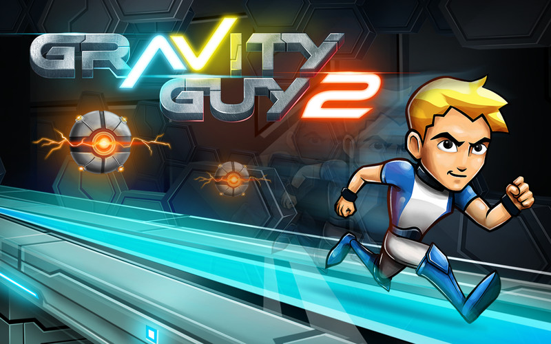 Free Gravity Guy 2 cell phone game
