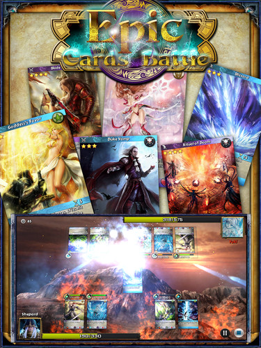 Free Epic Cards Battle cell phone game