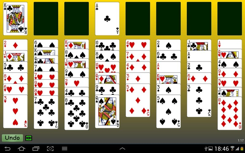 Free FreeCell Cards cell phone game