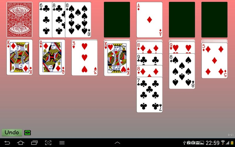 Free Klondike Solitaire Cards cell phone game