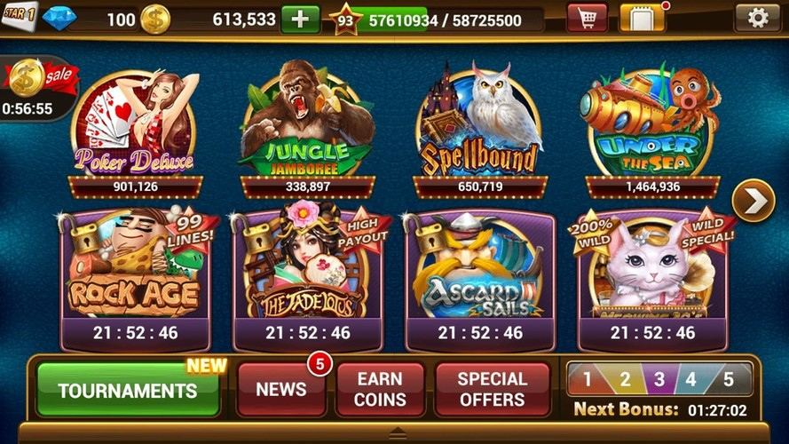 Free Slot Machines by IGG cell phone game