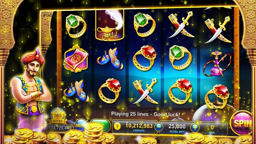 Free Slots™ - Magic slot machines cell phone game
