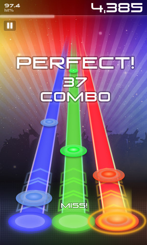 Free Music Hero cell phone game