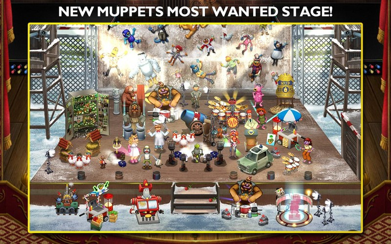 Free My Muppets Show cell phone game
