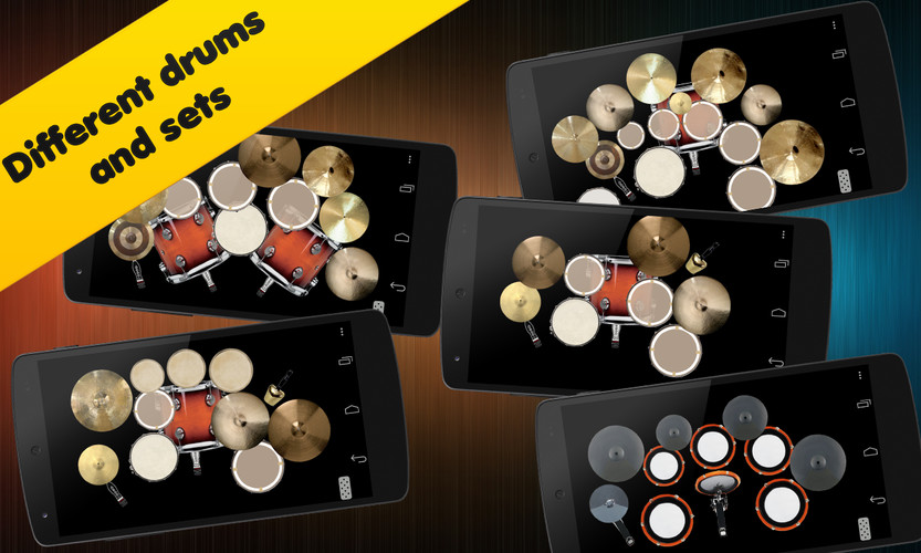 Free Drum set cell phone game