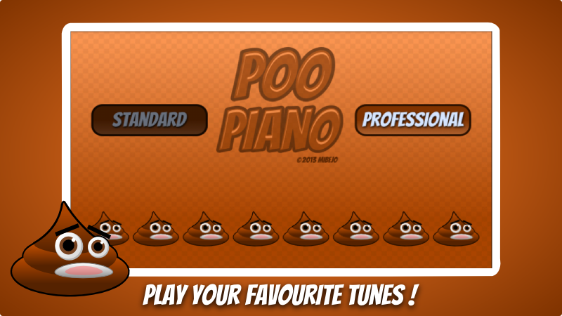 Free Poo Fart Piano - funny sounds cell phone game