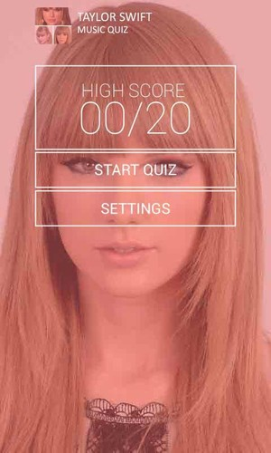 Free Taylor Swift Music Quiz cell phone game