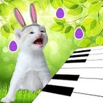 3D Singing Bunny Kitten Piano