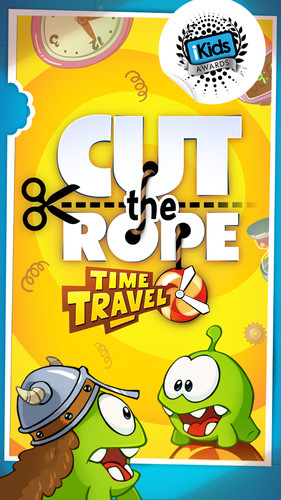 Free Cut the Rope: Time Travel cell phone game