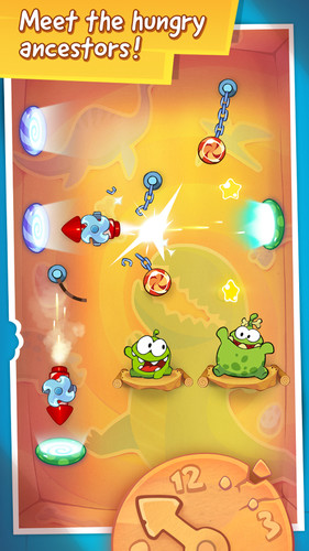 Cut the Rope: Time Travel screenshot 4