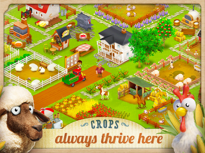 Free Hay Day cell phone game