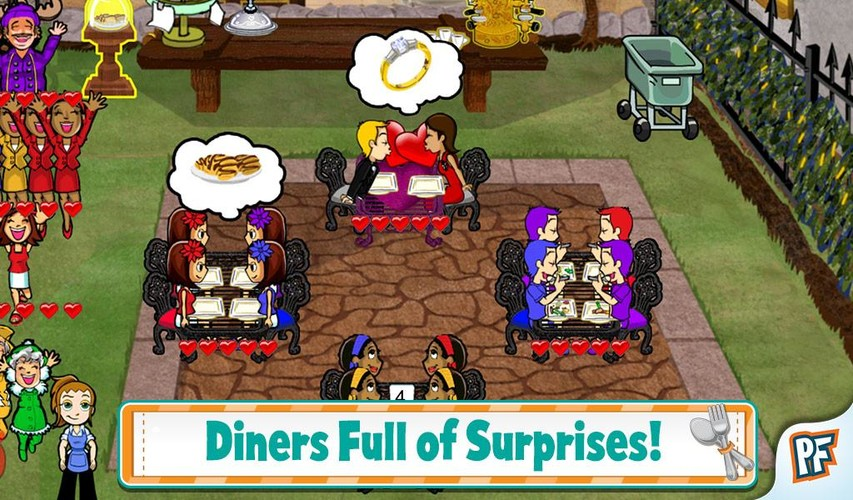 Diner Dash screenshot 2