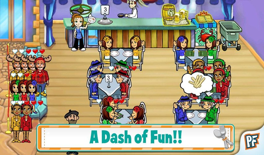 Diner Dash screenshot 3