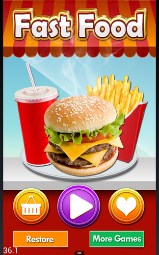 Free Fast Food Mania! cell phone game
