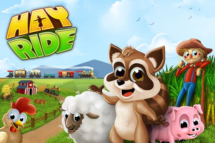 Free HAYRIDE cell phone game