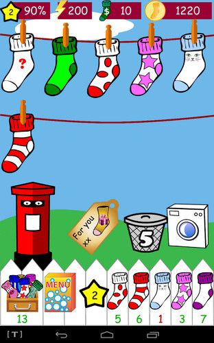 Free Odd Socks cell phone game