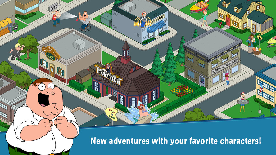 Family Guy The Quest for Stuff screenshot 3