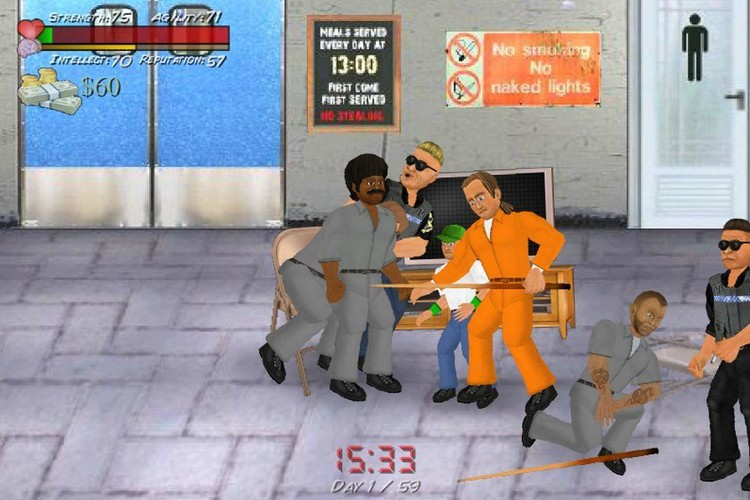 Free Hard Time (Prison Sim) cell phone game