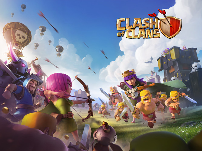 Free Clash of Clans cell phone game