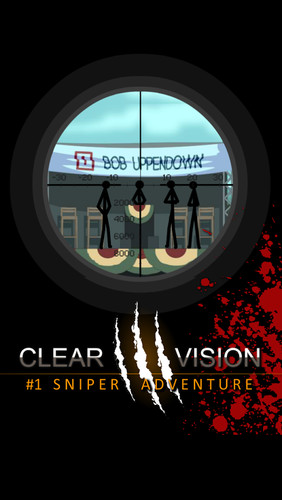 Free Clear Vision 3 -Sniper Shooter cell phone game