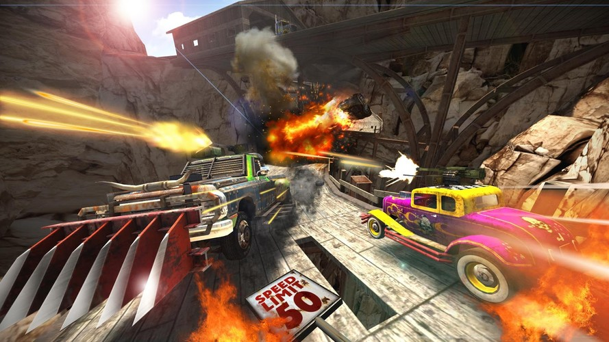 Free Death Tour- Racing Action Game cell phone game
