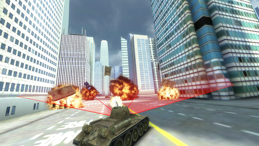 Free GT Tank vs New York cell phone game