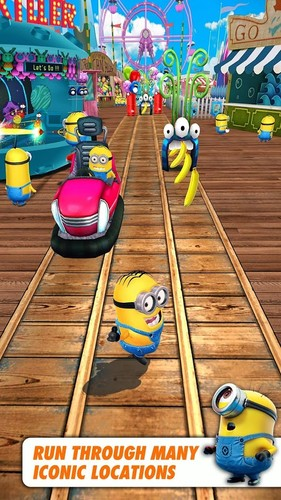 Free Despicable Me cell phone game