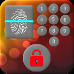 Fingerprint/Keypad Lock Screen