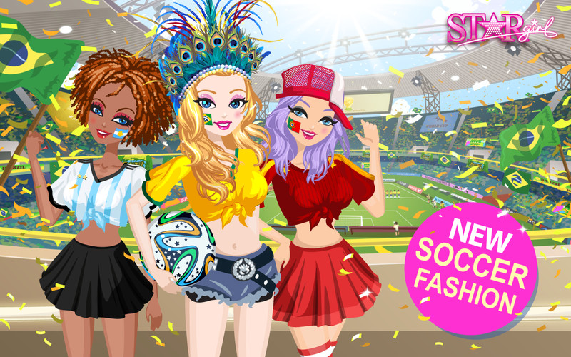 Free Star Girl: Colors of Spring cell phone game