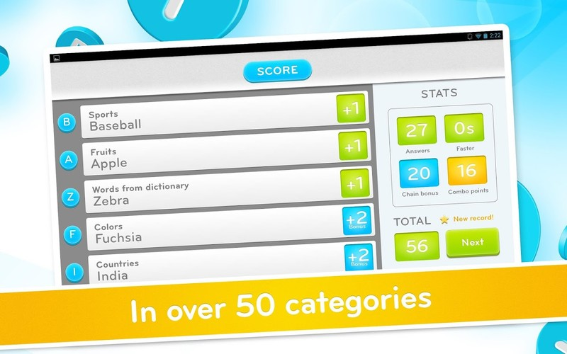 94 Seconds: category word game screenshot 3