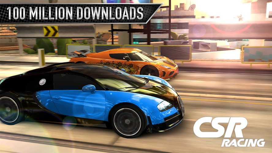 Free CSR Racing cell phone game