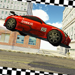 Axel Stunt Driver City Streets
