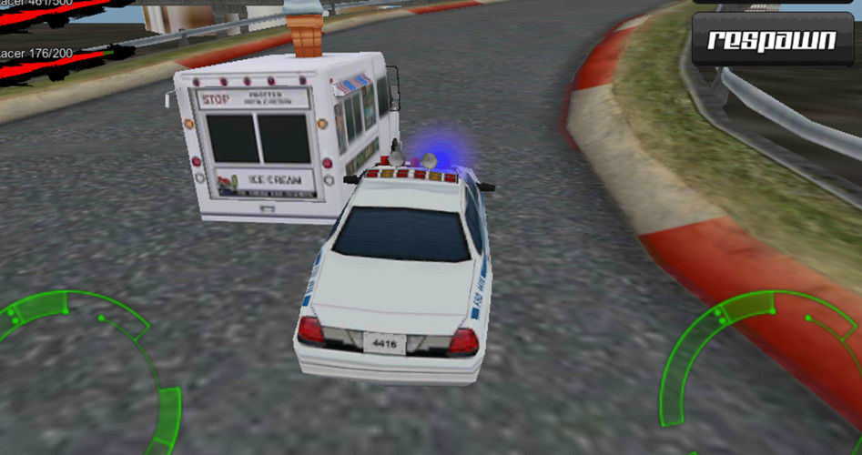 Free Ultra Police Hot Pursuit 3D cell phone game