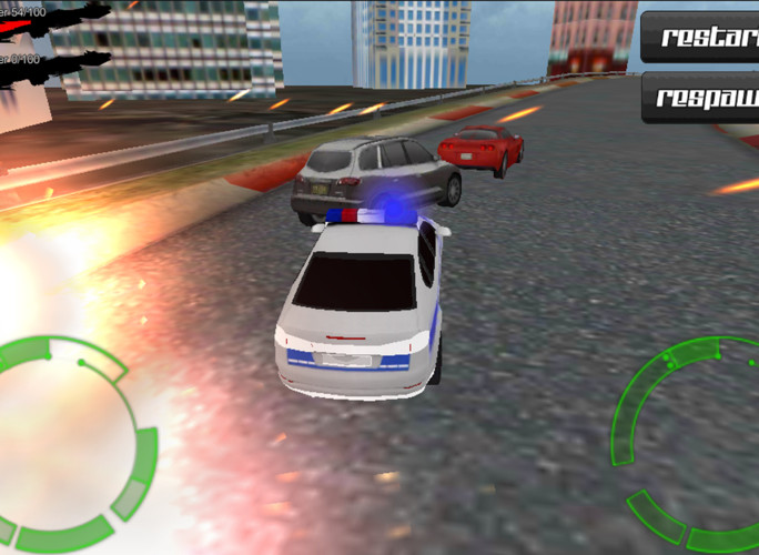 Ultra Police Hot Pursuit 3D screenshot 4
