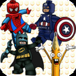 How to Draw: Lego Super Heroes