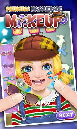 Free Princess Masquerade Makeup cell phone game