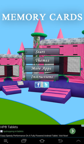 Free Princess Memory Cards cell phone game