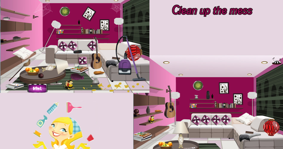 Big house clean Up decoration screenshot 2