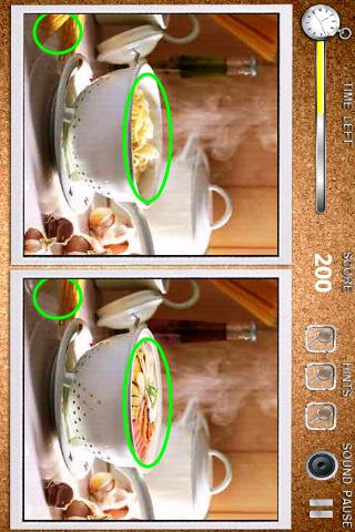 Free Find Differences Deluxe cell phone game