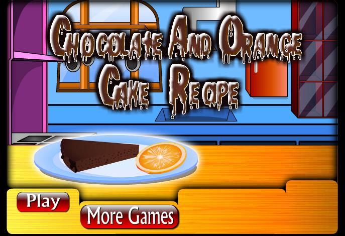 Free Chocolate And Orange Cake cell phone game