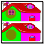 Find Difference Colorful House