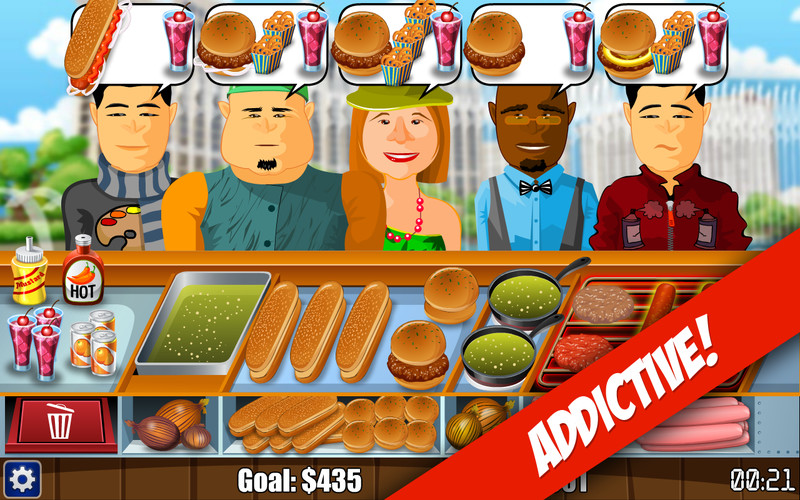 Free Hot Dog Bush cell phone game
