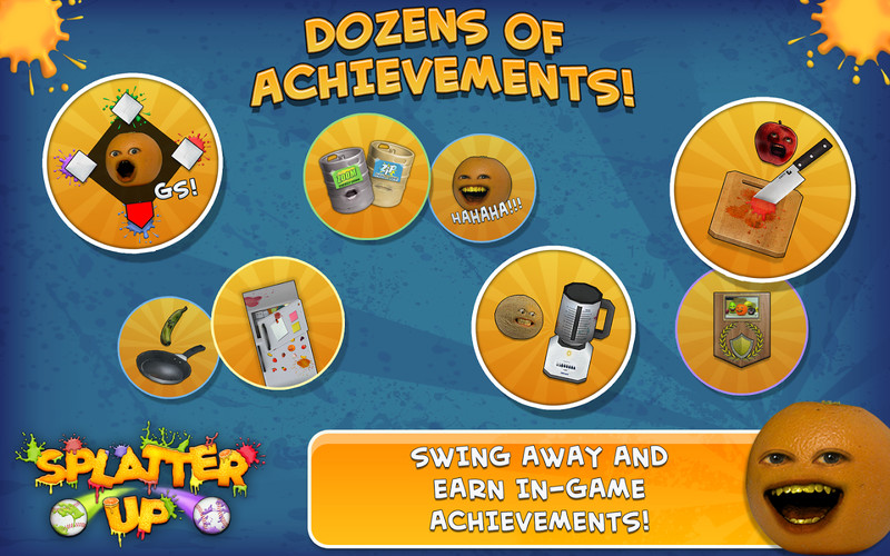 Annoying Orange: Splatter Free screenshot 4