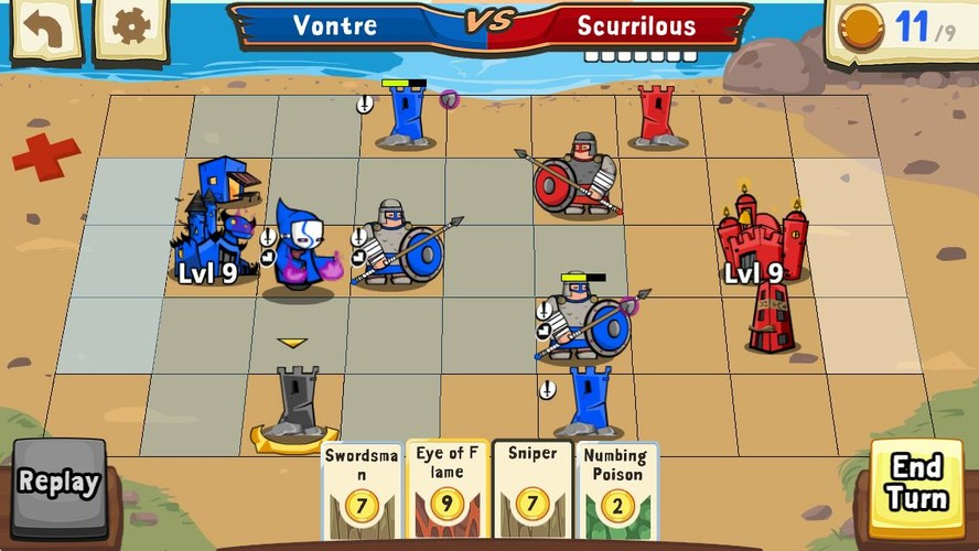 Cards and Castles screenshot 2