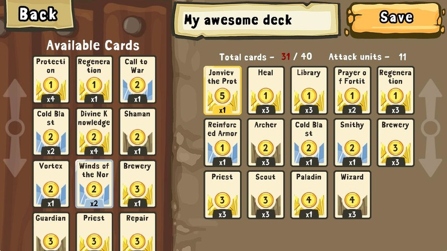 Cards and Castles screenshot 5
